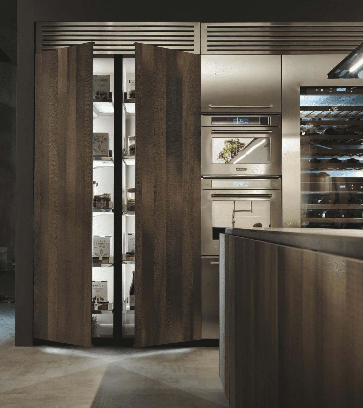 La importancia del almacenaje en una cocina es fundamental para que todo esté ordenado