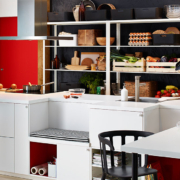 Ideas de decoración de cocinas en negro 4