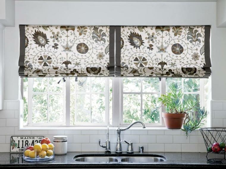 Como Elegir Cortinas Para Tu Cocina Stylux Cocinas - Que-cortinas-poner-en-la-cocina
