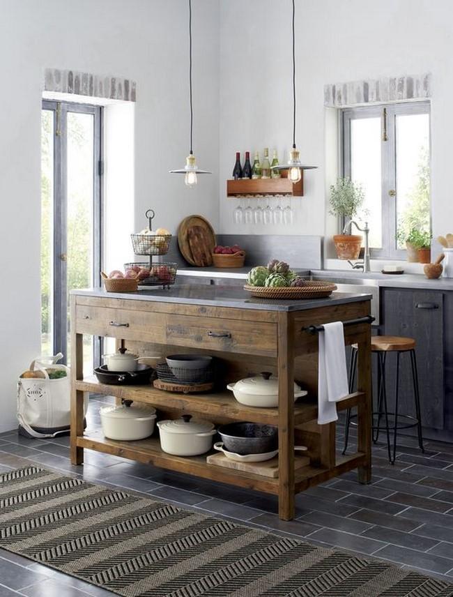 decorar una cocina rústica