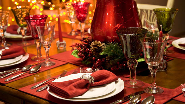 Consejos para decorar mesas en Navidad 2