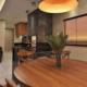 Mesa redonda para la cocina