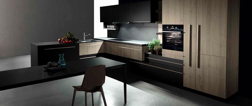 Ideas de decoración de cocinas en negro 1