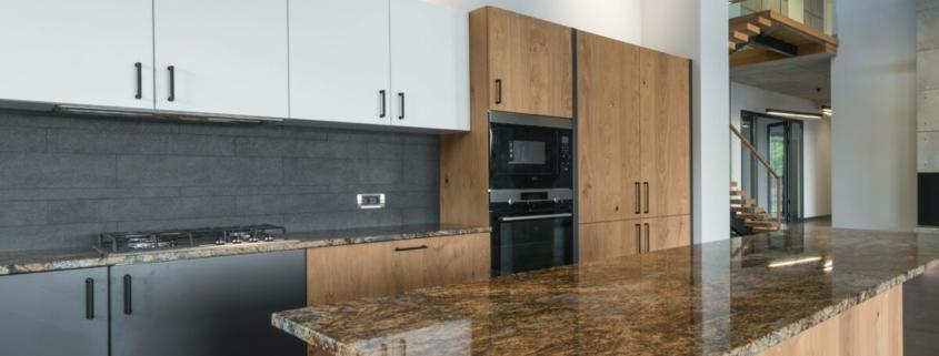 muebles de cocina de color
