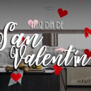 San Valentín en Stylux Cocinas en Sevilla