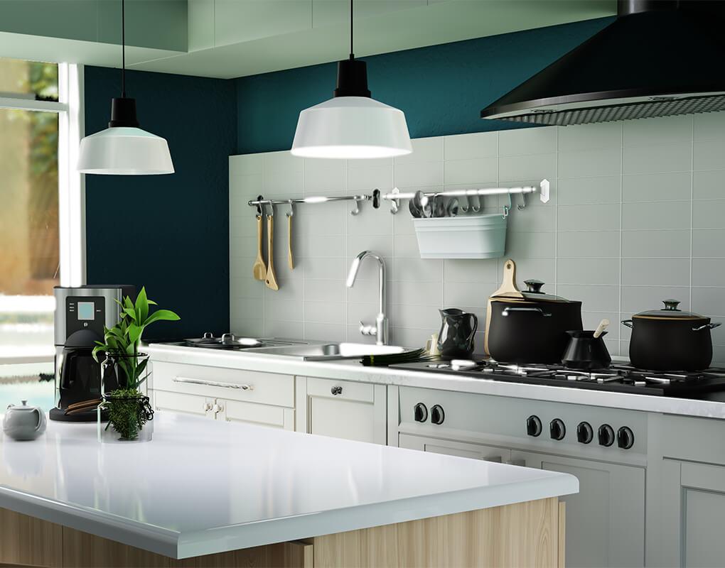 Ventajas de tener una cocina blanca